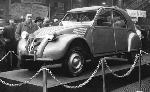 citroen 2 cv    07 octobre 1948     salon de l  u0026 39  auto a