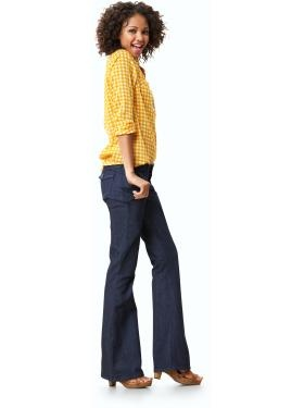 nice fall outfit. yellow gingham.: Including Hair, Orange, Sweet, Blouse, Fall Outfit, Brown, Shirt, Top