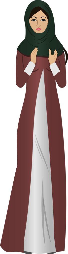 Customized illustration female avatar for eLearning (Adobe Captivate, Camtasia, Storyline).