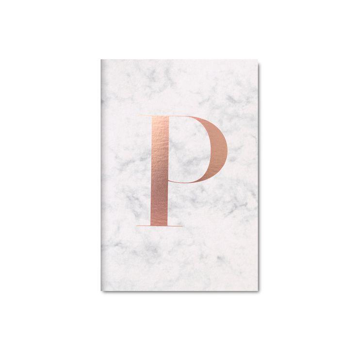 Marble pocket notebook by Studio Sarah