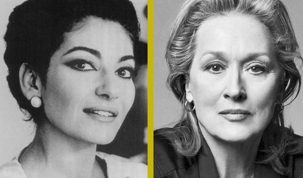 MARIA CALLAS / MERYL STREEP Opera dünyasının efsanevi isimlerinden Maria Callas'ın hayatı film oluyor. Yönetmenliğini Mike Nichols'ın üstleneceği filmde Yunan asıllı sopranoyu, Oscar ödüllü ünlü oyuncu Meryl Streep canlandıracak.