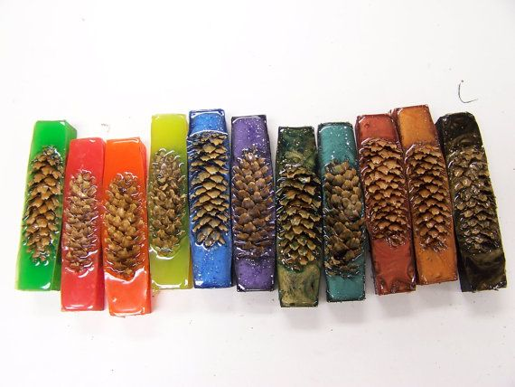 10 Mixed Pine Cone Pen Blanks Assorted Pen by CrabCreekIndustries