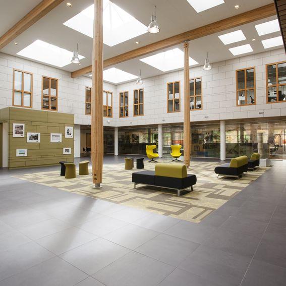Annekoos Littel Interieurarchitecten bni - Regionaal Archief Rivierenland #furniture #office #wood #interior #design #annekoos #annekooslittel #woerden