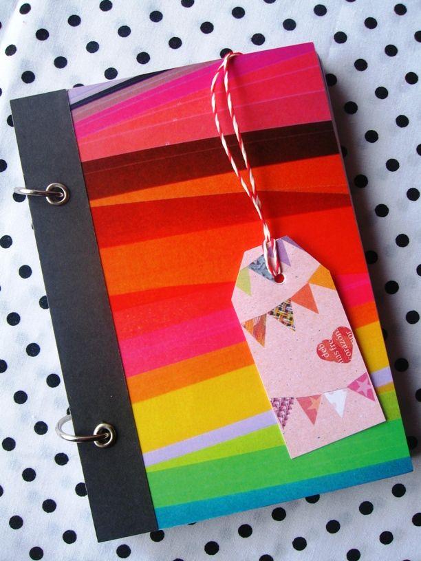 La Vida lalala...: Amando el papel...libretas, nuevos diseños! ♥