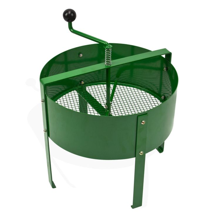 kompostsieb mit kurbel kurbelsieb handkurbelsieb hs15 neu 918656 garten pinterest kompost. Black Bedroom Furniture Sets. Home Design Ideas
