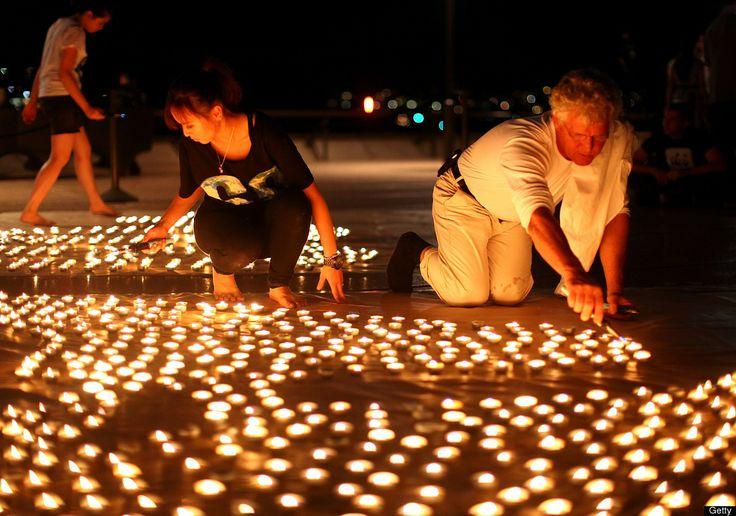 Earth Hour -tunnelmia Sydneyssä
