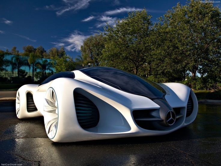 Mercedes Benz concept car : Cars that are literally grown instead of built! What!?!