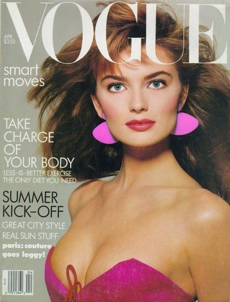 when Paulina Porizkova was on every cover