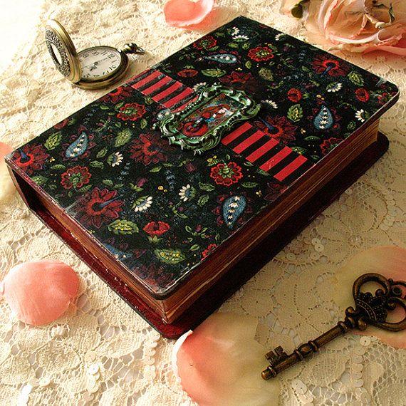 Box imitation book  Miss Melancolia by Minasmoke on Etsy, $30.70