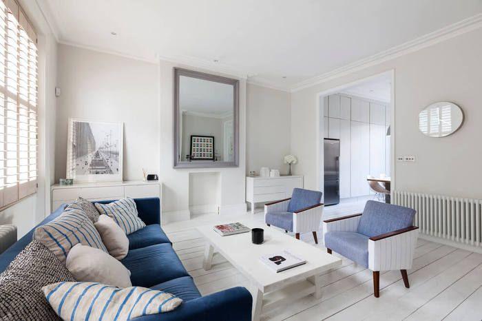 여름에 어울리는 깨끗한 아파트 인테리어 in 런던 :: FabD(팹디)