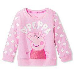 Toddler Girls' Peppa Pig Sweatshirt - Pink