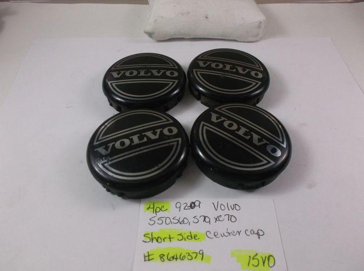 4pc set 92-09 Volvo S50 S60 S70 S80 S90 Wheel Center Cap 8646379 hub cover 15VO #VOLVOoem