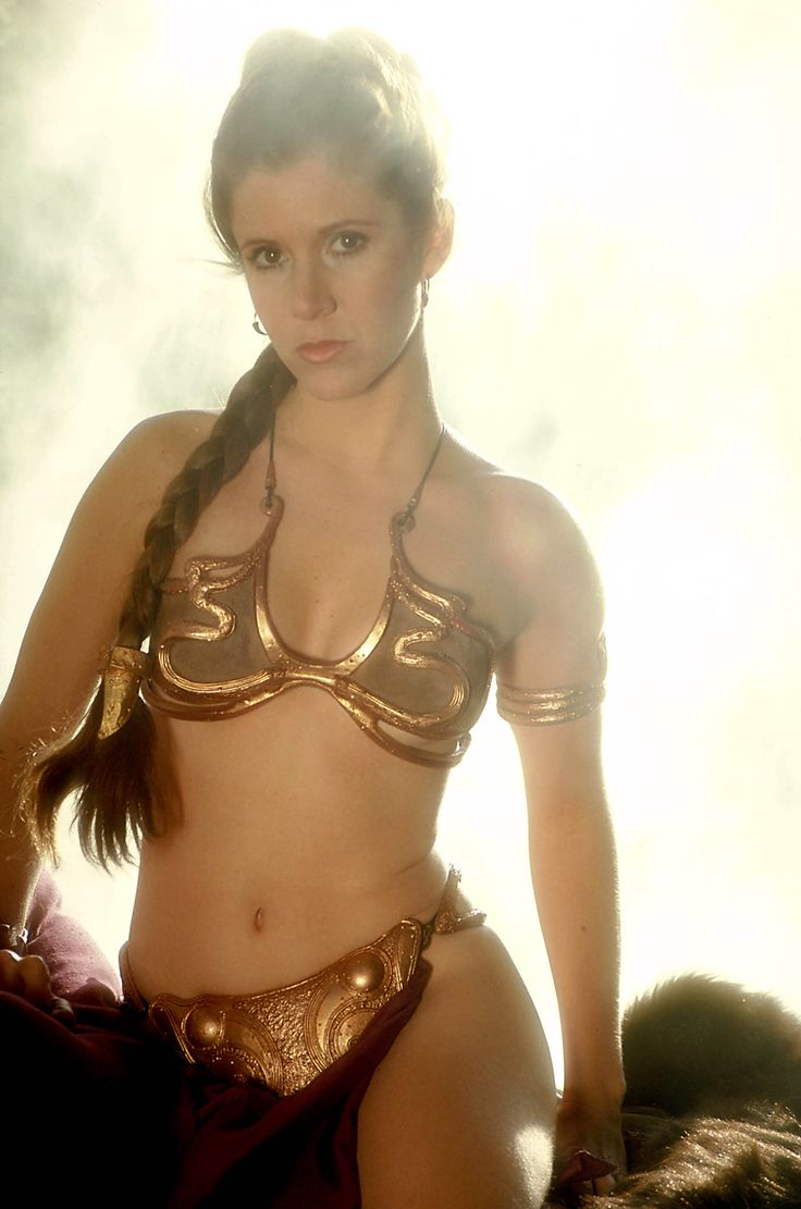 Carrie fisher princess leia slave apologise, but