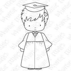 Whimsie Doodles - Grad Boy