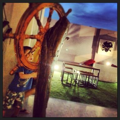The Pirate Bar Joondana, great place to dine early in the week with little pirates!