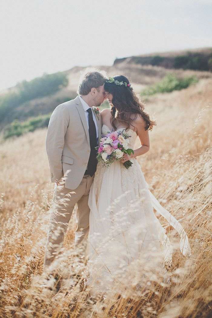 Stunning Big Sur elopement, featuring the prettiest boho style