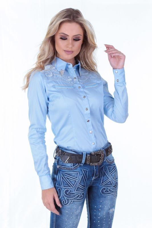 0451ba136c Camisete Zenz Western Composição - 100% algodão Camisa feminina ...