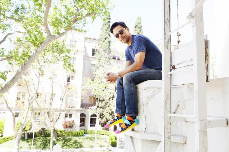 Przełam nudę i załóż designerskie skarpetki Happy Socks. Teraz do kupienia w Le Premier https://www.le-premier.pl. #lepremier