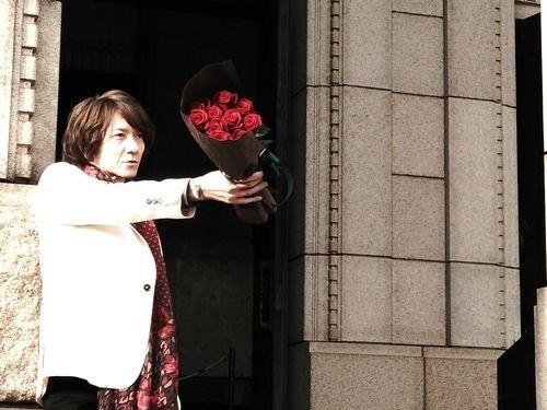 吉井和哉と薔薇、が大好評のbridge、もう見ましたか?