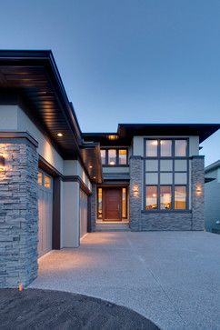 Modern Prairie Home contemporary exterior