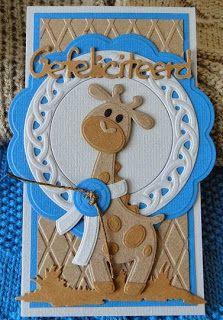 Creaties met Papicolor papier: Giraffe