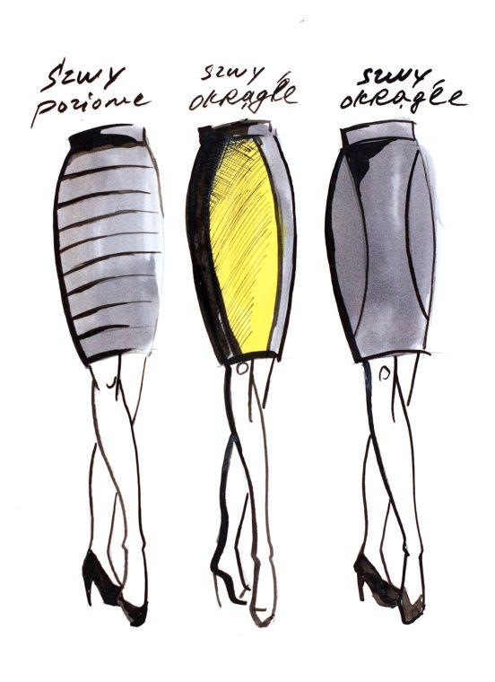 Zostań swoją własną stylistką! Część XI: Spódnica ołówkowa - maxmodels.pl
