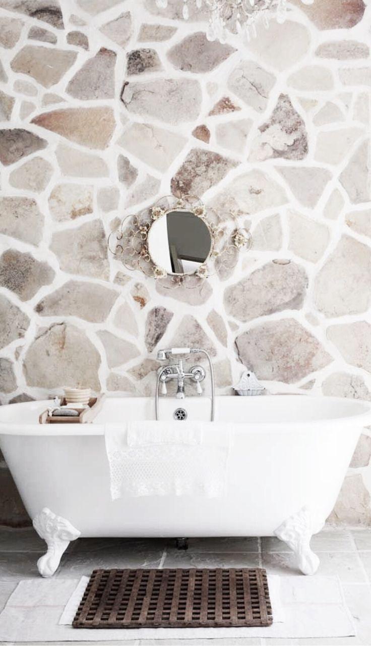 1000 idées sur le thème salle de bain en pierre sur pinterest ...