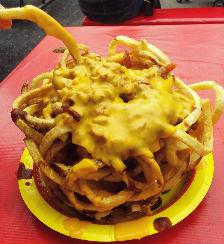 Chilly cheese fries from the Texas state fair