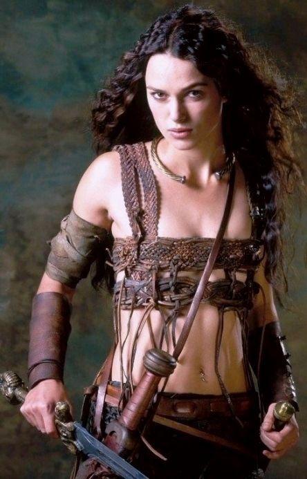 z- Keira Knightley- 'King Arthur', 2004, II