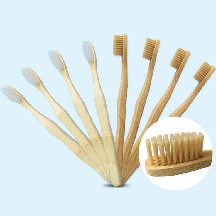 Ogreen 12PCS Environmentally Wood Toothbrush Novelty Bamboo Tooth Brush Bamboo Fibre Wooden Handle Teeth Whitening