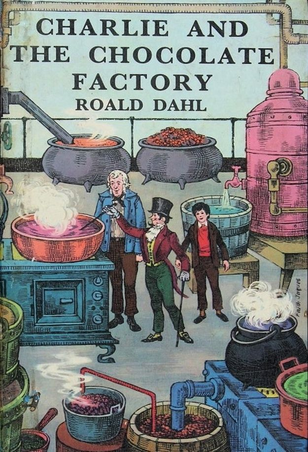 1967 | The Evolution Of Charlie And The Chocolate Factory Book Covers via @M House Books