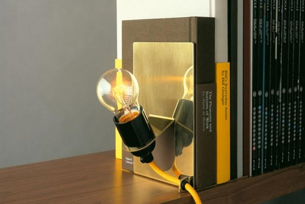 Library Lamp. Arrives in a custom-made box designed by Monocle. Made in Sweden.