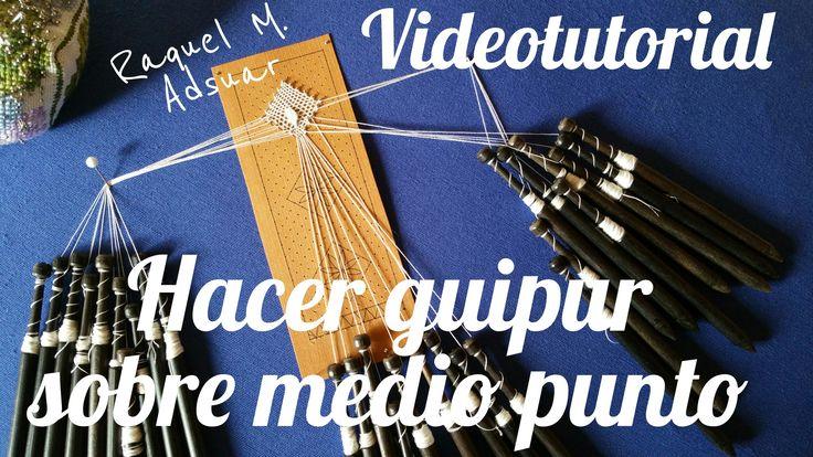 En este videotutorial os explico la manera en la que realizamos las hojas de guipur sobre el medio punto, recurso muy utilizado en el encaje de bolillos que ...
