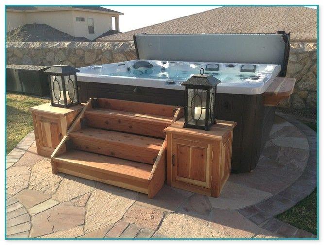 Cheap Hot Tub Steps Home Improvement In 2020 Hot Tub Backyard Hot Tub Pergola Hot Tub Accessories