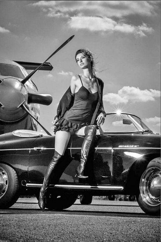 Speedster In Black Porsche 356 Pinterest