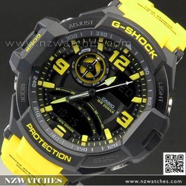 BUY Casio G-Shock Gravity Defier Compass Thermometer Watch GA-1000-9B, GA1000 - Buy Watches Online | CASIO NZ Watches
