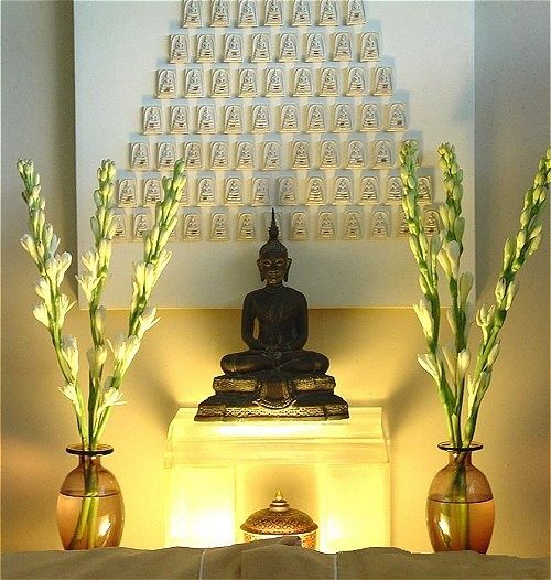 Soft, Low Light/glow. I Propose Lucky Bamboo, Instead Of Flowers Due. Zen  Room DecorMeditation Room DecorMeditation CornerMeditation SpaceYoga ...