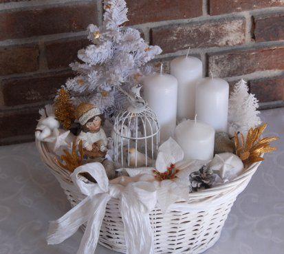Luxusní velká vánoční dekorace
