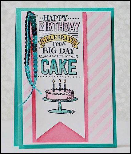 Big Day stamp set - get it FREE with any $50 order at www.SimplySimpleStamping.com through March 31, 2015