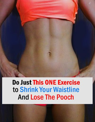 this is the best and easiest workout to lose the pooch quickly
