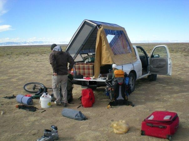 Packing Up For A Summit Run At The Foot Of Blanca Pk Colorado In February Van DwellingCamper ConversionsTruck