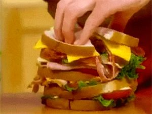 The ultimate lunch sandwich