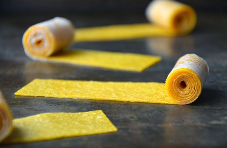 Skip the store-bought snack foods and whip up your own healthy, no sugar added fruit rollups made with a single ingredient: fruit!
