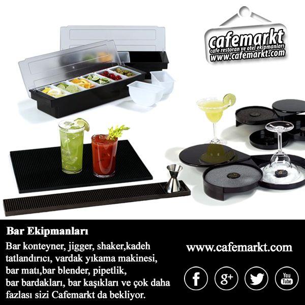 Büyükten küçüğe aradığınız tüm bar ekipmanları Cafemarkt da. Tıklyın kapınıza teslim edelim. 250 tl ve üzeri tüm alışverişlerinizde kargo BEDAVA! http://www.cafemarkt.com #Cafemarkt #BarEkipmanları #BarMalzemeleri #BarÜrünleri #Barbardakları #Shaker #Pipetlik #BarBlender #Barkonteyner #BuzMakinesi #Buzkovası #KokteylSüzgeci