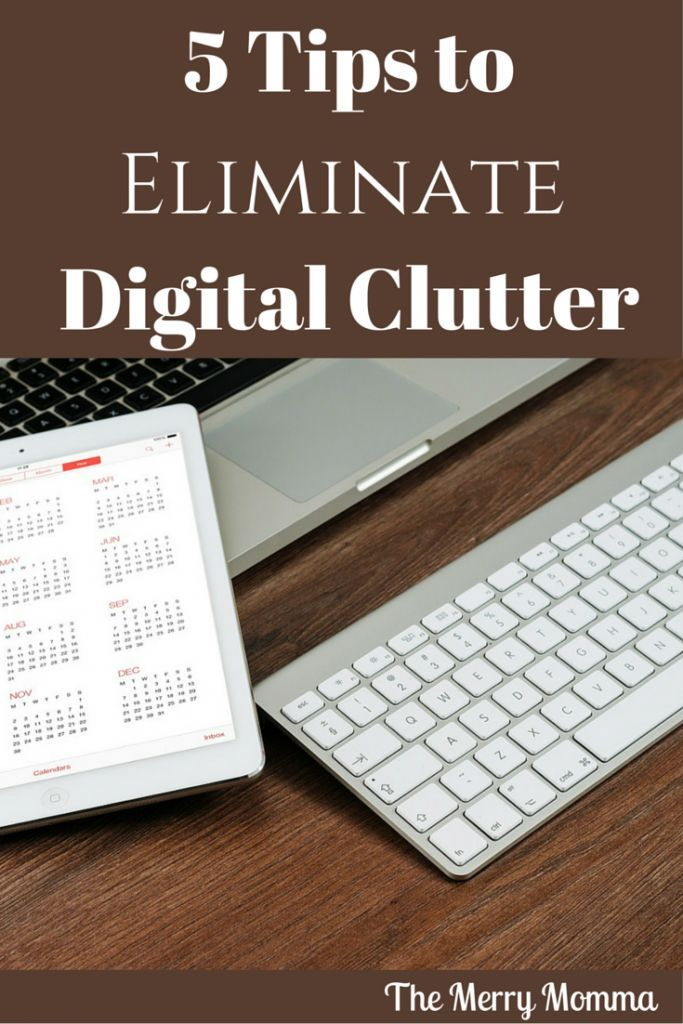 I had reduced the clutter in my home, but I needed to address the clutter on my devices. Sound familiar? Here are 5 Tips to Cut Down on Digital Clutter!