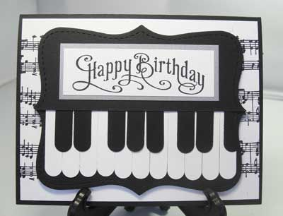 Birthday Cards Notes ~ Best cards musical images masculine cards