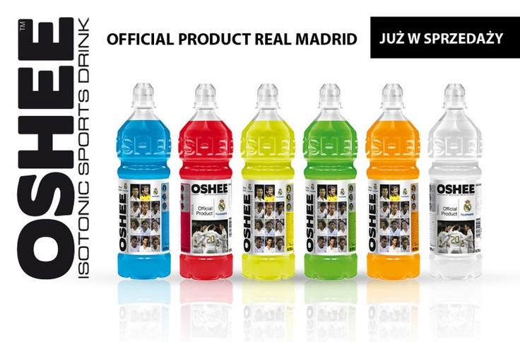 OFFICIAL PRODUCT REAL MADRID oshee