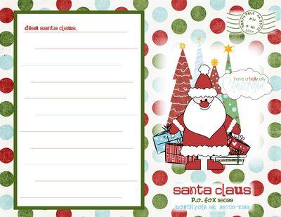 9c7fcbf0660c412cb8b864e91c9e40b5  Rd Grade Letter Template Santa on