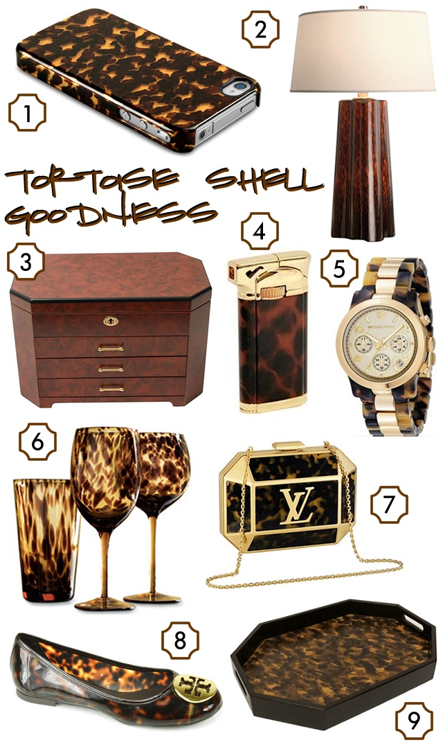 """Tortoise Shell...Been wanting that barware for some time now..the watch was a purchase almost 2 weeks ago, and in my lifetime I aspire to own everything else in this """"goodness"""" capiche'?!"""