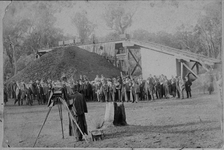 024905PD: John Forrest and a ministerial party visiting Wallsend coal mine, Collie, March 1899 http://encore.slwa.wa.gov.au/iii/encore/record/C__Rb3507763?lang=eng